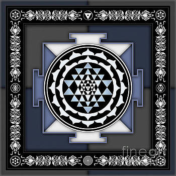 Sri Yantra - No. 2 by Dirk Czarnota