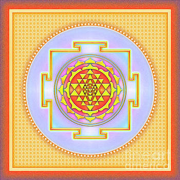 Sri Yantra - No. 3 by Dirk Czarnota