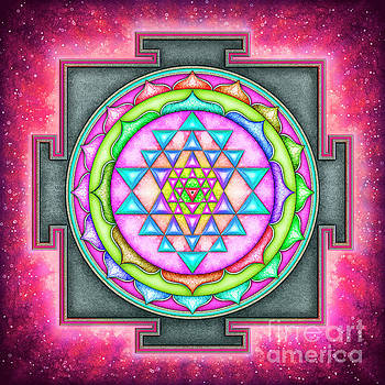 Sri Yantra - Artwork 7.2 by Dirk Czarnota