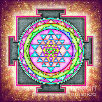 Sri Yantra - Artwork 7.3 by Dirk Czarnota