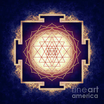 Sri Yantra - Artwork 9 by Dirk Czarnota