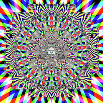 Sri Yantra RGB by Robert Thalmeier