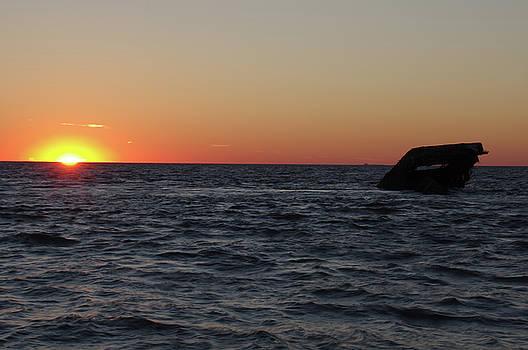S.S. Atlantus at Sunset by Greg Graham