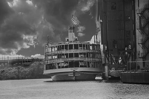 SS Columbia by Jim Markiewicz