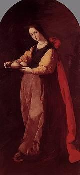 Zurbaran Francisco de - St Agatha 1633