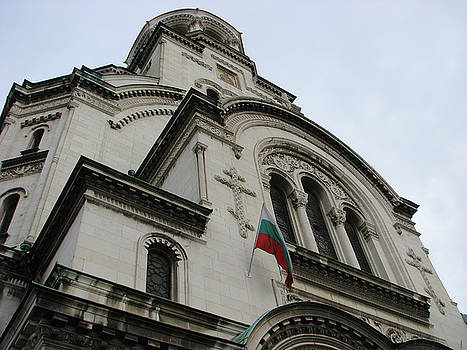 St Alexander Nevski Cathedral in Sofia 2 by Iglika Milcheva-Godfrey