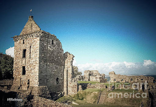 St Andrews Castle Scotland by Veronica Batterson