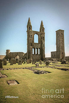 St Andrews Cathedral Ruins by Veronica Batterson