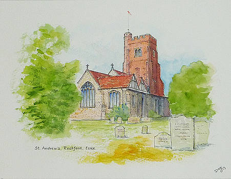 St Andrews Rochford UK by David Godbolt