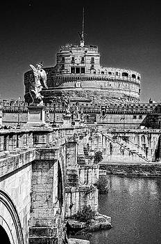 St. Angelo Castle Rome Italy by Xavier Cardell