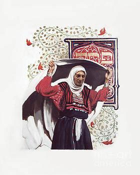 Louis Glanzman - St. Anna the Prophetess - LGATP