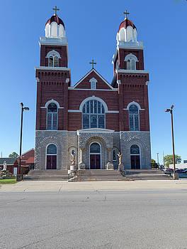 St Anne Catholic Church by Fran Riley