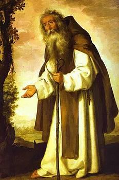 Zurbaran Francisco de - St Anthony Dispirited 1640