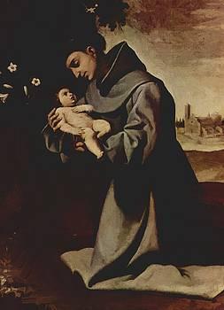 Zurbaran Francisco de - St Anthony Of Padua