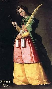 Zurbaran Francisco de - St Apollonia 1636