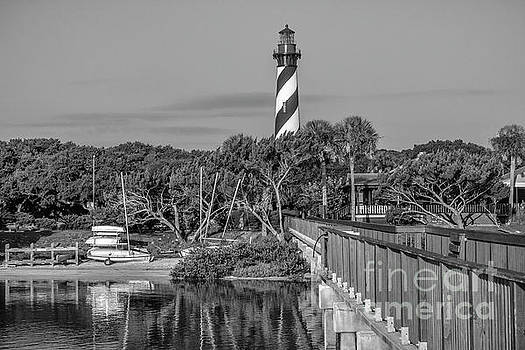 St Augustine Lighthouse and Yacht Club by C W Hooper