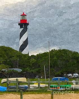 St. Augustine Lighthouse Boat Ramp by Jennifer Capo