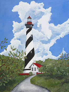 St. Augustine Lighthouse by John Edebohls
