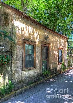 St. Augustine Side Street by Debbi Granruth