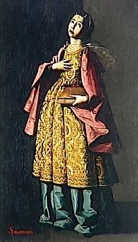Zurbaran Francisco de - St Barbe