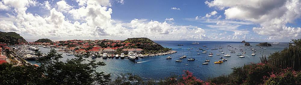 St. Barths Harbor at Gustavia, St. Barthelemy by Lars Lentz