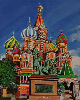 St. Basil Cathedral by Bill Dunkley
