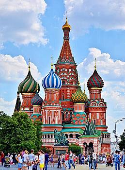 St. Basil's Cathedral by Steven Liveoak