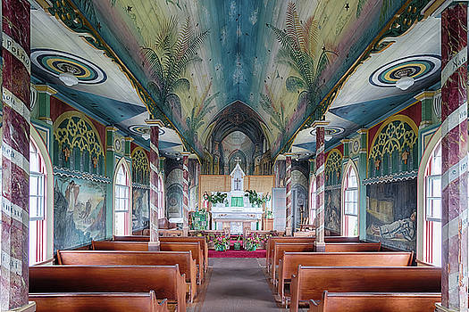 Susan Rissi Tregoning - St. Benedict Painted Church Interior 2