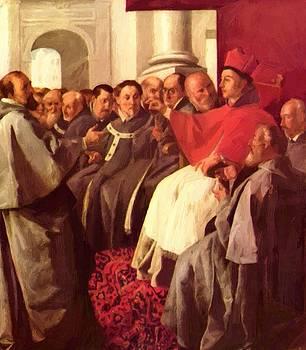 Zurbaran Francisco de - St Bonaventure At The Council Of Lyons
