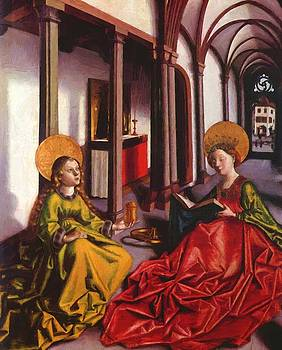 Witz Konrad - St Catherine And Mary Magdalene