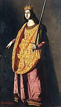 Zurbaran Francisco de - St Catherine Of Alexandria