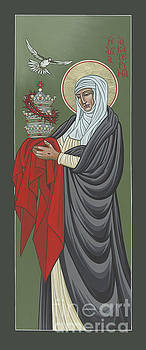 St Catherine of Siena- Guardian of the Papacy 288 by William Hart McNichols