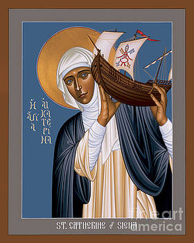 Br Robert Lentz OFM - St. Catherine of Siena - RLCOS