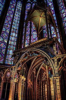 St. Chappelle Altar by Vicki Jauron