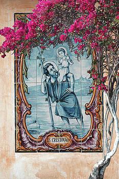 St Christovao -St Christopher by Jeff Burgess