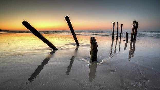 St Clair Sunset by Brad Grove