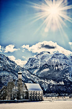 St Coloman's Church II - Sunshine - HDR by Franz Fotografer