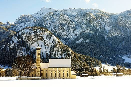 St. Coloman's Church - Sunshine by Franz Fotografer