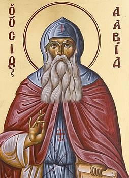 St David of Evia by Julia Bridget Hayes