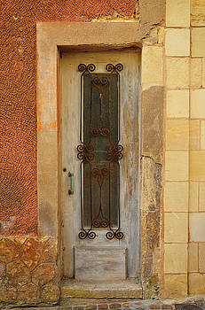 St. Emilion Door by Kathy Yates