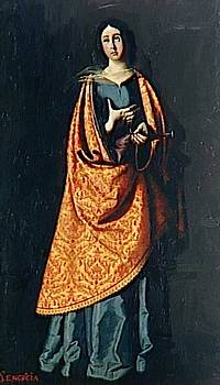 Zurbaran Francisco de - St Engracia
