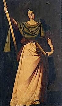 Zurbaran Francisco de - St Eulalia