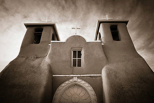 St Francis Church Front by Marilyn Hunt