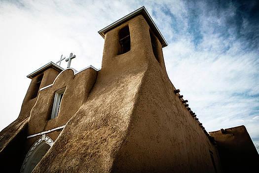St. Francis Church Taos by Marilyn Hunt