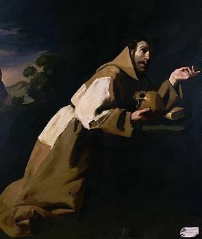 Zurbaran Francisco de - St Francis In Meditation 1639