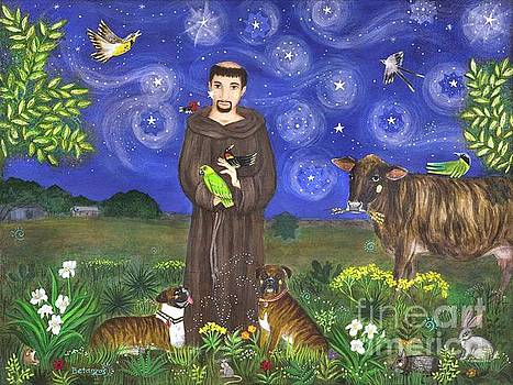 St. Francis In Texas by Sue Betanzos