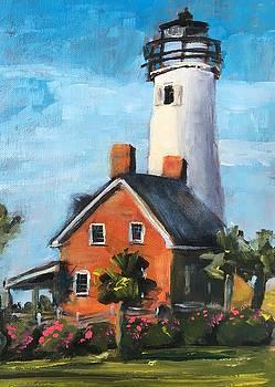 St. George Island Lighthouse by Susan E Jones