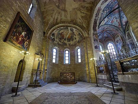 St George's Basilica. Prague Castle. Prague spring 2017 by Jouko Lehto