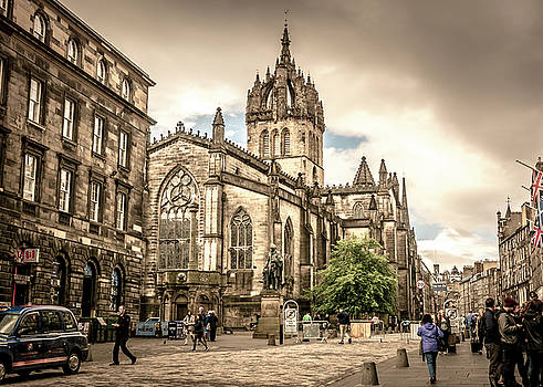 St Giles' Cathedral by Andrew Matwijec