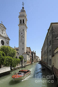 St Giorgio Canal by Michael  Winters
